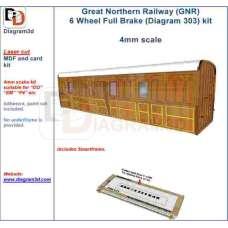 GNR Full brake body kit  (D303)