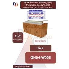GNR Perishable Goods Van