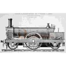 GWR 1876 222 Express Engine Standard Gauge