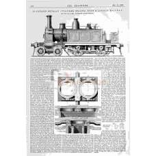 NLR Adams 4-4-0 Tank Engine, 1866