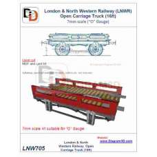 LNWR Open Carriage Truck